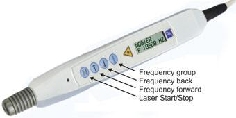 LaserPen, acupuncture with resonance frequencies, RAC, laser therapy